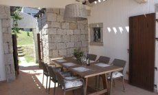 Seating area outdoor