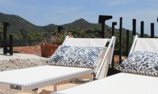 Two sunbeds on the terrace of Li Conchi 29