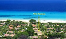 Location Villa Rosamar at Costa Rei