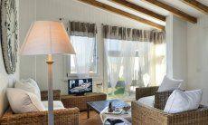 Sofa corner in the living room of Li Conchi 9, Cala Sinzias