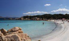 Incredible colours in the bay of Cala Capriccioli, Costa Smeralda