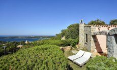 View of Villa Domus 9d and the sea