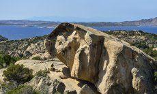 View from Domus di Pitrizza over the coast of Costa Smeralda