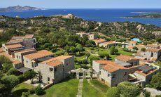 Aerial view of Domus di Pitrizza