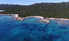 Beach Cala di Volpe, only 16 km. away