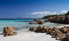 Beach Romazzino, Costa Smeralda