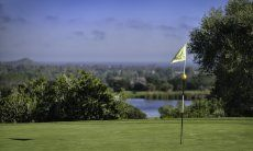 Golfcourse Is Molas with sea view