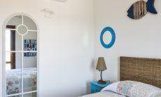 Bedroom 1 with a big mirror
