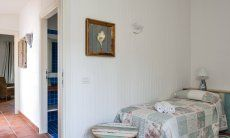 Bedroom with corridor and Bath