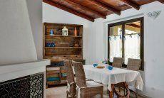 Classy dining area inside