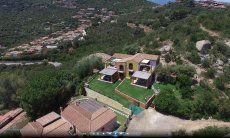 Villa Orchidea, aerial image
