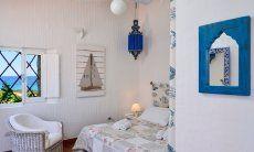 Bedroom 1, nicely furnitured