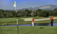 Golfcourse Is Molas with 27 holes close to Pula