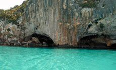 Grotta del Bue Marino, this grotta can be reached only by boat