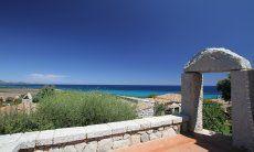 Granite arch in Sant Elmo, Southsardinia