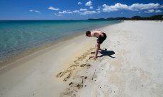 White sand Costa Rei