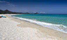 Strand Cala Sinzias; Tamatete