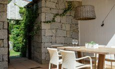 Dining area outside
