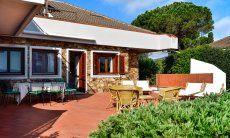 Big terrace of the villa