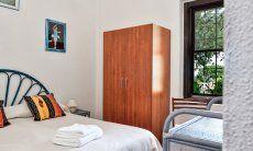Bedroom 1 with garden window
