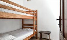 Children's room with bunk bed