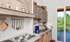 rustical kitchen with all essential devices