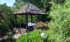 Gazebo in the garden, perfect for relaxing