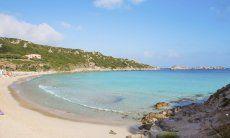 Beach of Rena Bianca, 26 km.