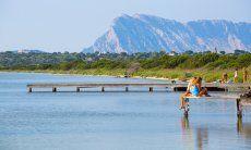 Lagoon lake San Teodoro