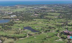 Golf Club Is Molas with 27 holes and sea view