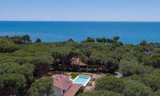 Villa Pola, air view