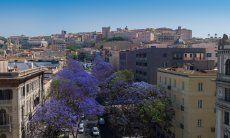 Cagliari the capital of Sardinia