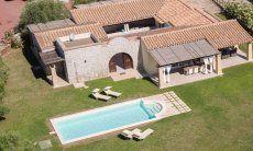 House view Villa Campidano