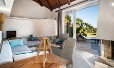Sitting area Villetta Quattro Costa Rei