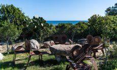 Garden and sea view Villetta 3 Costa Rei