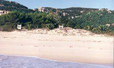 Position on the beach