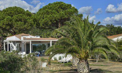 Villa Graziano among a huge garden