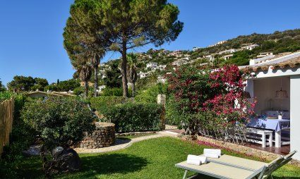 Well groomed and beautiful garden of Villa Chiara