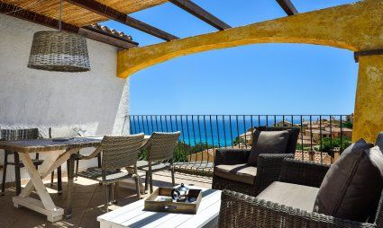 C V. Orchidea - Quiet position with a stunning sea view