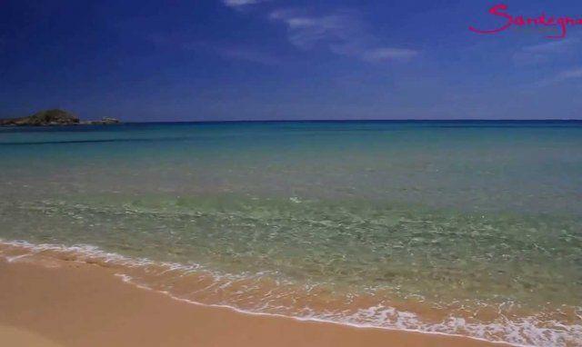 Video Beach of Su Giudeu