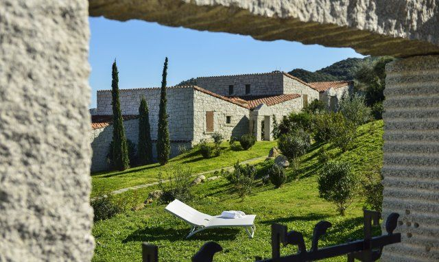 View from the terrace from Li Conchi 9, Cala Sinzias