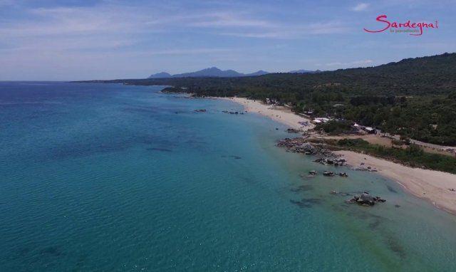 Video beach of Orri, Ogliastra