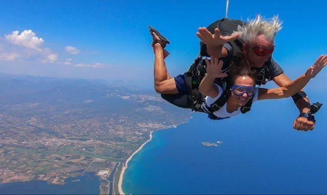 Skydiving - Ogliastra